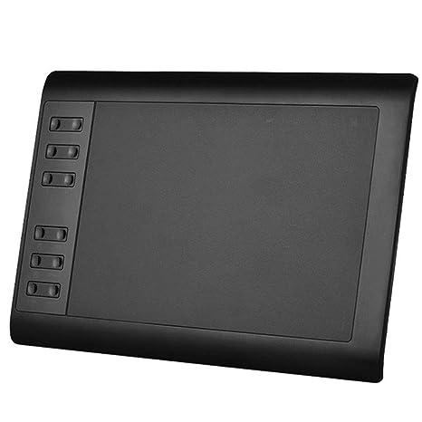 ZXLIFE@@ El Tablero de Dibujo Digital portátil de 10 Pulgadas, la Tableta gráfica