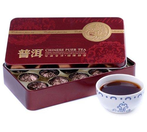 (1box 2010yr Glutinous Rice Fragrance Small Golden Tuo Puer/puerh Tea)