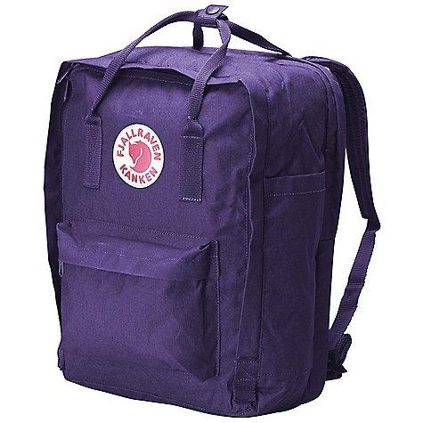 Fjallraven Kanken 15 Backpack Purple One Size, Outdoor Stuffs