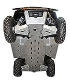 9-Piece Complete Aluminum Skid Plate Set, Polaris Ranger 500 & Ranger 800 Mid-Size by Ricochet