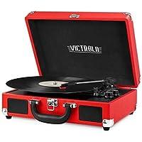 Victrola Nostalgic 3-Speed Vintage Bluetooth Turntable (Multi Colors)