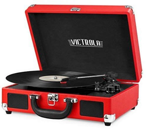 Innovative Technology Portable Suitcase Turntable with Bluet