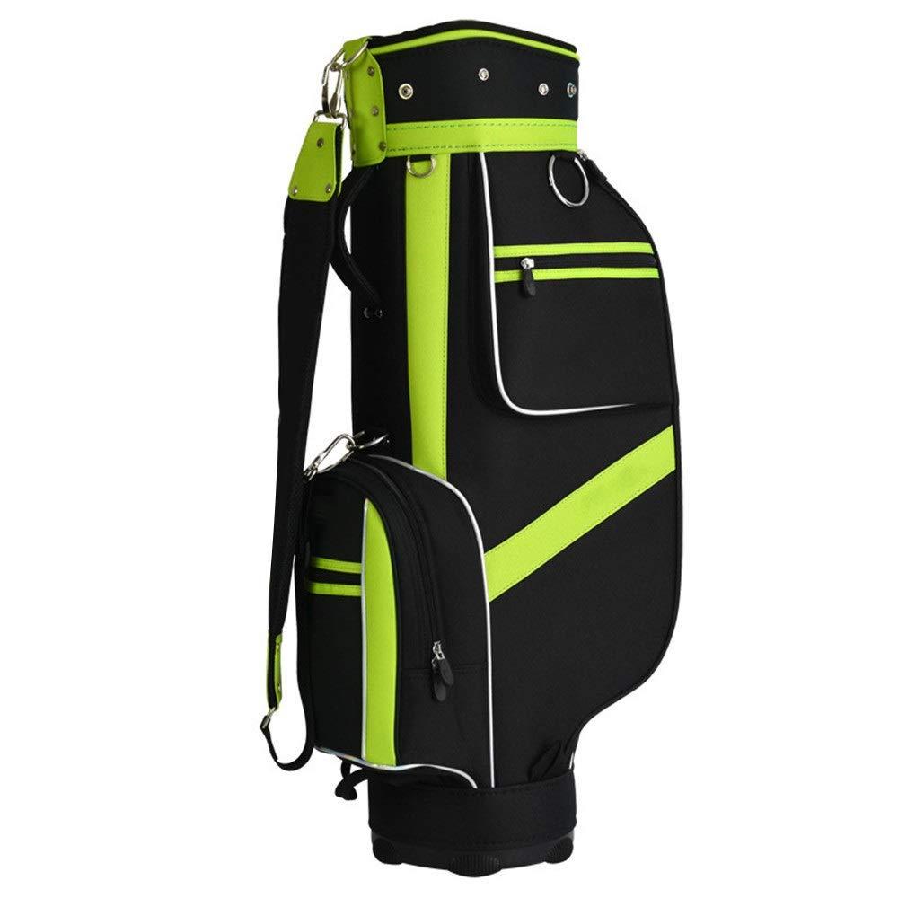 クラブケース メンズレディース軽量ゴルフトラベルケース防水ゴルフキャリーバッグあらゆるサイズに対応クラブアダルトゴルフアクセサリーバッグ付き5プランジャー穴 ゴルフスタンドバッグ (色 : One color, サイズ : 85×38×22.5cm) B07T16T7YZ One color 85×38×22.5cm