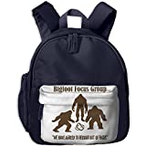 Bigfoot Focus Group School Backpack Casual Lightweight Canvas Backpacks With Pocket For Kids