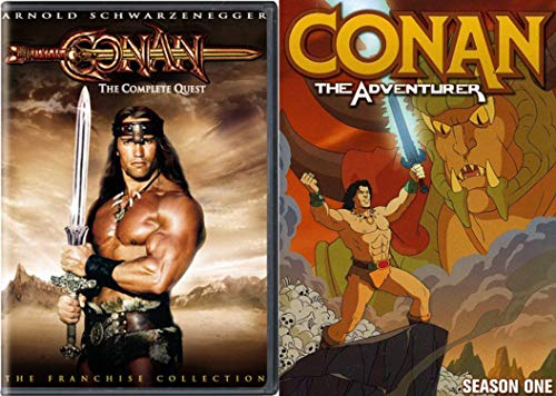 Conan the Completer - From the Franchise Collection The Barbarian and The Destroyer and Season One of The Adventurer 4-DVD Bundle ()