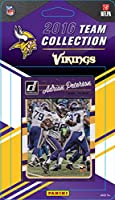 Minnesota Vikings 2016 Donruss Factory Sealed Team Set with Fran Tarkenton, Adrian Peterson, Teddy Bridgewater, Laquon Treadwell Rookie plus