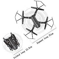 SUKEQ 2.4G 4CH Altitude Hold Folding Pocket Selfie RC Quadcopter Drone With WIFI FPV Camera