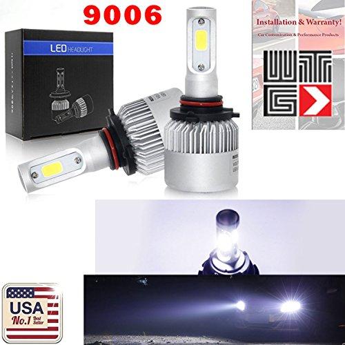 VITO 9006 HB4 120W 12000LM Super White 6500K COB CREE LED Kit Headlight DRL Kit/High/Low Beam/Fog Lamp Light Bulbs (Contain 2 LED Bulbs)