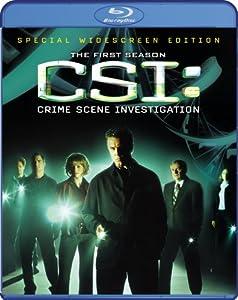 Cover Image for 'CSI: Crime Scene Investigation: The Complete First Season'