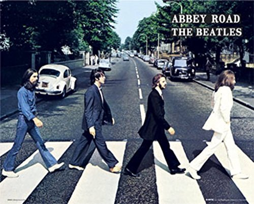 The Beatles - Abbey Road (mini) Mini Poster 20 x 16in