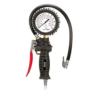 SPTA Medidor de Presión de Neumáticos 170 PSI Manómetro Digital ...