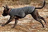 RUFFWEAR QUINZEE GRAY INSULATED DOG JACKET EASY ON / OFF ALL SIZES (XS)
