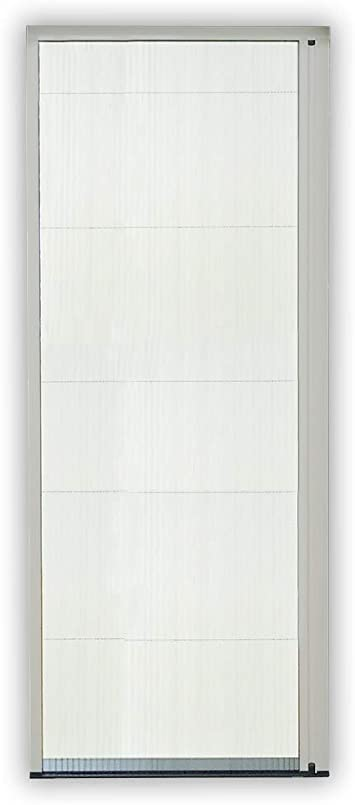 Mosquitera corredera puerta plegable Pro aluminio 160 x 240 cm gris recortable compatible con puertas y ventanas: Amazon.es: Bricolaje y herramientas