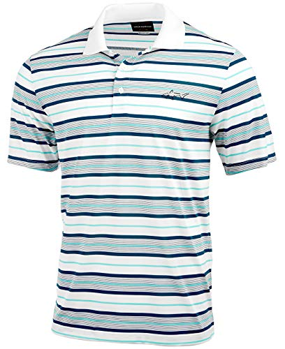 Tasso Elba Men's Bedford Stripe Polo (Bright White, Small)