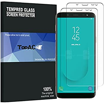 Amazon Com Galaxy J6 2018 Screen Protector Topace 9h Hardness