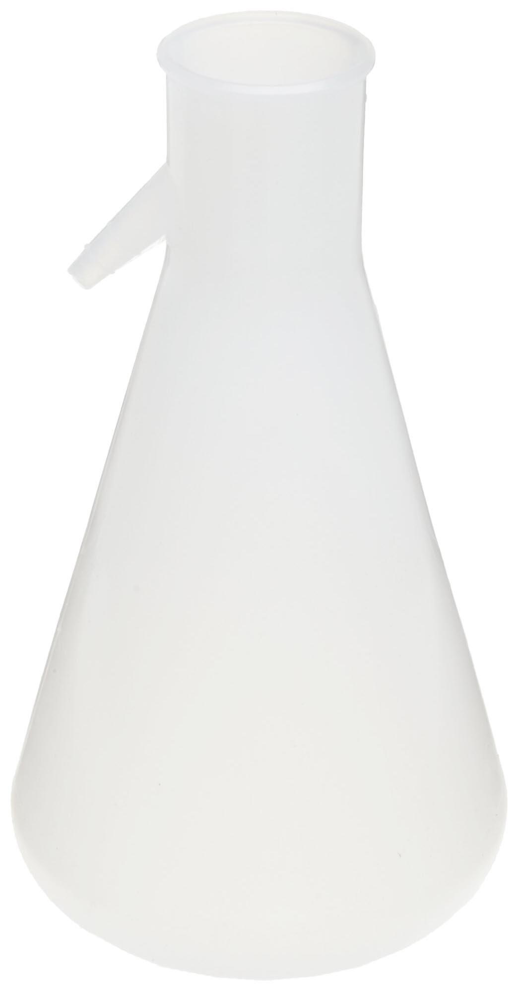 Nalgene DS4101-0500 Polypropylene 500mL Filtering Flask with Angled Tubulation by Nalgene