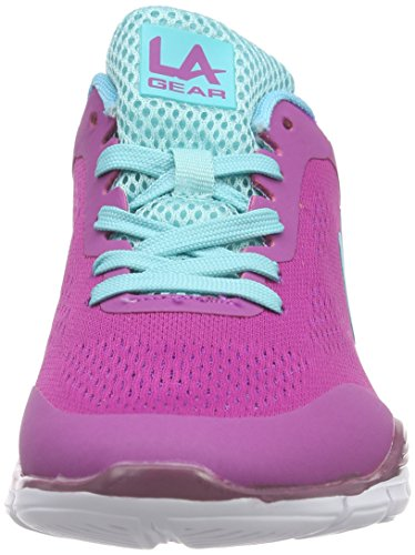 L.A. Gear Malibu - Zapatillas Mujer Rosa - Pink (Rose 09)