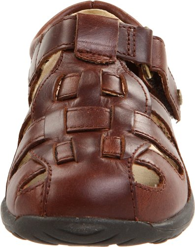 Stride Rite SRTech Harper Fisherman Sandal (Infant/Toddler), Brown, 3 W US Infant - Image 4