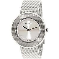 Gucci U Play Silver Dial Stainless Steel Quartz Ladies Watch YA129407