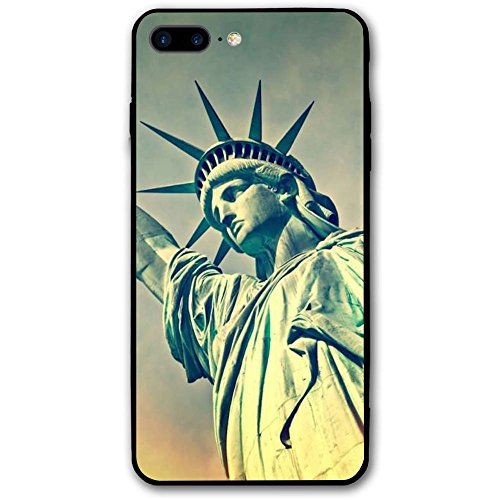 Flame Statue Of Liberty Protective PC IPhone 8 Plus Case 5.5 -