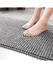 Toalha De Piso Antiderrapante Microfibra Macarrão 60x40cm