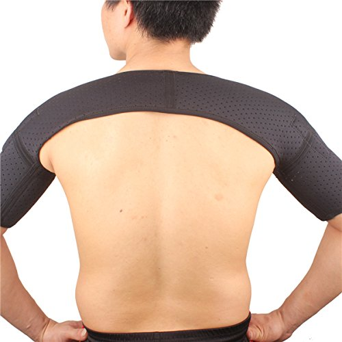 SHUOXIN Magnet Therapy Ventilate Shoulder Supporter Protector Pad By AC2 by AC2