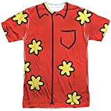 Family Guy Adult Cartoon TV Series Quagmire Costume Adult Front Print T-Shirt