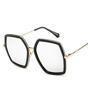 YLNJYJ Gafas De Sol Cuadradas Diseñador De La Marca Señoras ...