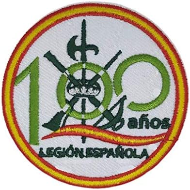Gemelolandia | Parche Termoadhesivo Legion Española 100 años 7,3cm | Muy Adherentes | Patch Stickers Para Decorar Tu Ropa | Fáciles de Poner: Amazon.es: Hogar