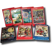 SET OF 7 INTELLIVISION GAMES: ARMOR BATTLE, SEA BATTLE, LOCK N CHASE, NIGHT STALKER, SPACE ARMADA, NFL FOOTBALL, ADVANCED DUNGEONS & DRAGONS