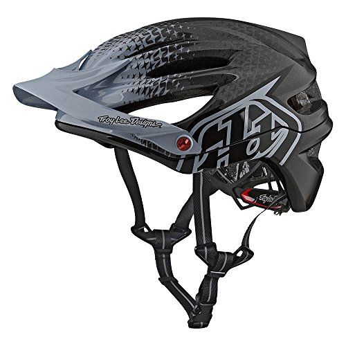 Troy Lee Designs A2 Starburst Mountain Bike Adult Helmet with MIPS Protection and X-Static Liner meets/exceeds CPSC CE-EN AS/NZS (Medium/Large, Silver/Black)