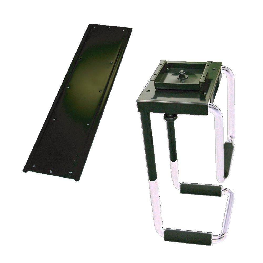 ライブクリエータ 机裏面ネジ固定式スライド可動式CPUボックスホルダー(ブラックタイプ) CPH-05TB B000M9BQBQ