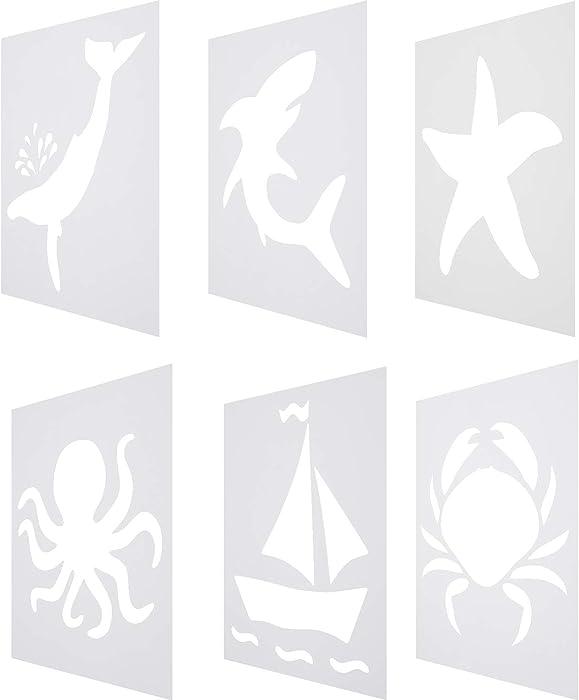 Top 8 Shark Stencils