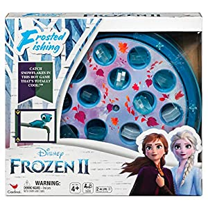 Cardinal Games 6054132 Disney Frozen 2 Frosted Fishing Game For Kids & Families,Multicolor