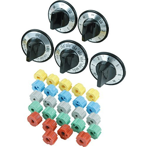 universal electric range knob kit - 9