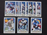 Detroit Lions 1990 Fleer Football Team Set (Premier Issue)*** (Barry Sanders) (Andre Ware Rookie) (Jerry Ball) (Bennie Blades) (Lomas Brown) (Bob Gagliano) (Eddie Murray) (Rodney Peete) (Chris Spielman)