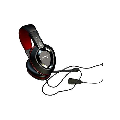 Mars Gaming MAH1 - Auriculares gaming (surround 7.1, tarjeta de sonido USB, drivers