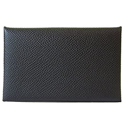 factory price da8fd 58738 Amazon | [エルメス] カードケース 名刺入れ カルヴィ 黒 ...