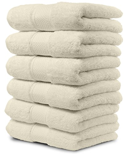 Cream Hand Towels - 3
