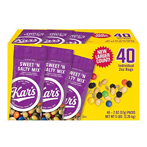 (Kar's Sweet 'n Salty Mix 2 oz, 40 ct.)