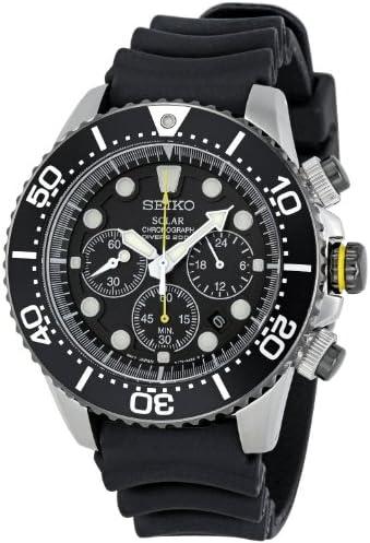 [セイコー]SEIKO 腕時計 SOLAR CHRONOGRAPH DIVER'S ソーラー クロノグラフ ダイバー SSC021P1 メンズ [逆輸入]