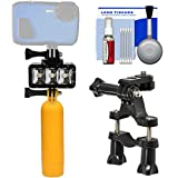 Precision Design WPL40 Waterproof Underwater Diving LED Video Light with Buoy + Bike Mount + Kit for Waterproof Point & Shoot, GoPro & Action Cameras