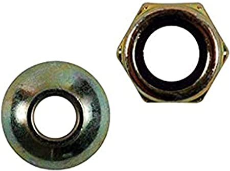 Replacement Hex Locking Nut and Lift Pivot Cup for TroyBilt Cub Cadet 712-3083 748-04069A