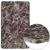 Flash Furniture 24'' x 42'' Rectangular Gray Marble Laminate Table Top
