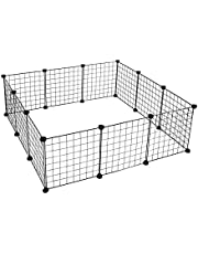 VEIKOU Pet Playpen for Small Animal, Bunny Rabbit Guinea Pig Hamster Cage Fence Portable Play Yard, 12 Panels…