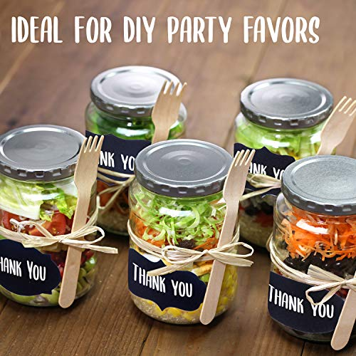 Chalkboard Labels 173 Pack, Pantry and Storage Stickers for Jars: Mason, Spice, Glass, Cups, Containers, Canisters, Small, Medium, and Large Decorative Reusable Blackboard Vinyl Set w/ 2 Markers