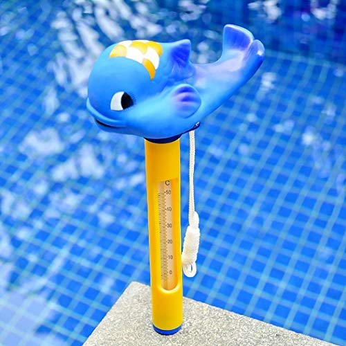 rateim Animal Shape Floating Spa and Pool Thermometer 0-50℃ Reads in Both F° and C° for Outdoor/Indoor Swimming Pools, Hot Tub, Spa, Jacuzzi and Pond from rateim
