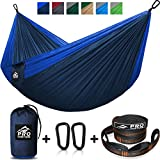 ---------------------------------------- THE OUTDOORSIS YOURS! ---------------------------------------- With the ProVenture Double Hammock you have everything you need to hang out in total comfort anywhere! Using high-strength, quality materials, it...