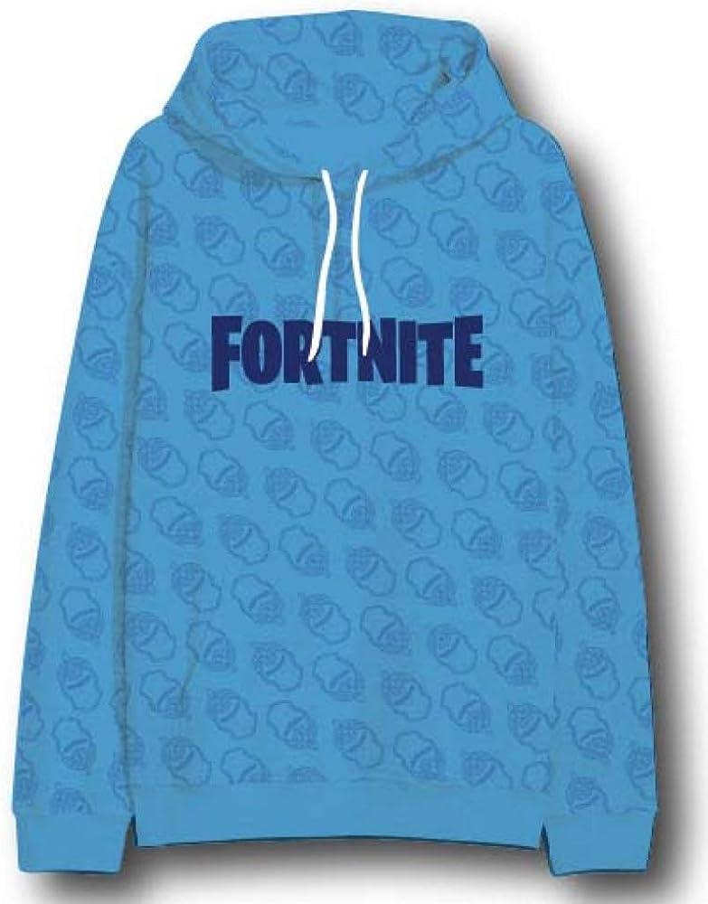 Blue Fortnite Hoodie