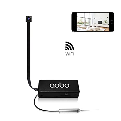 4462814d5f79 Hidden Camera AOBO Mini Spy Camera Wireless WiFi IP Cameras for Home Office  Security Portable